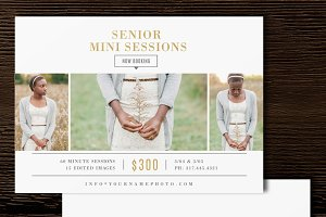 Senior Mini Session Template