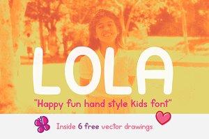 Lola - Kids Font