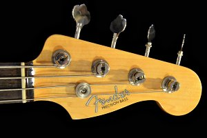 Fender Bass Guitar headstock