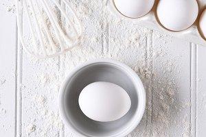 White Baking Still Life