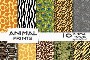 Animal Prints - digital papers