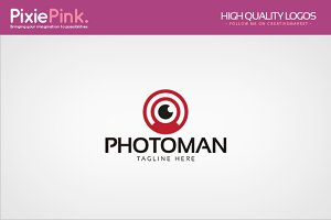 Photo Man Logo Template