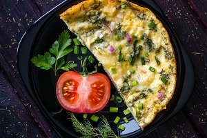 delicious omelette