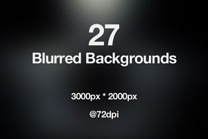 Sale - 27 Blurred Web Backgrounds