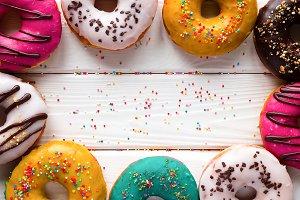donuts mockup