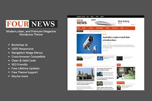 FourNews-Clean WP Magazine