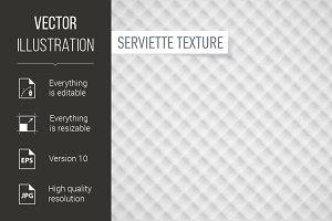 Serviette texture
