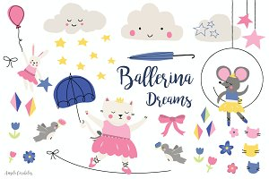 Ballerina Dreams - 27 png images