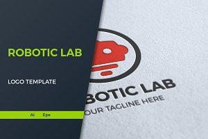 Robotic Lab Logo Template