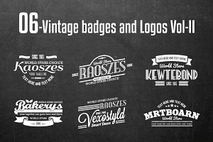 Vintage Badges and Logos Vol-2