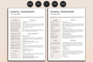Resume/CV - Robinson