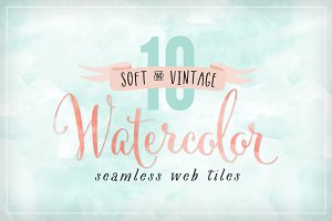 Watercolor Seamless Web Textures