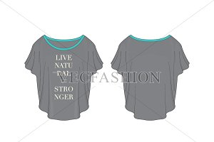 Gym Training Top Fashion Flat