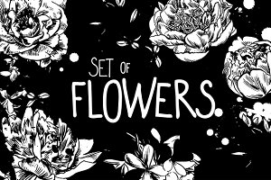 INK FLOWERS