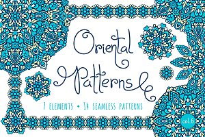 Oriental Patterns - Color Palette 6