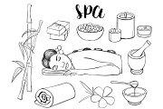 Spa doodle set