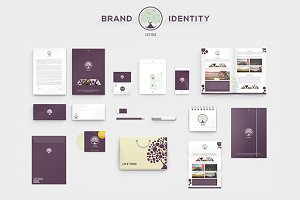 LifeTree - Brand Identity