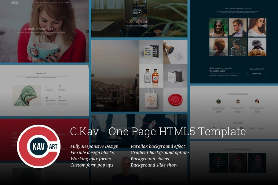 6 Bootstrap Landing Page Themes & Templates
