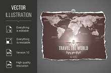 Travel the world design