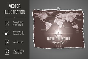 Travel the world design
