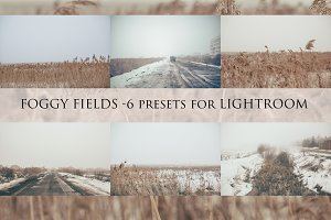 Foggy fields- 6 presets for Lr