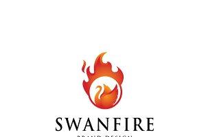 Swanfire Logo Template