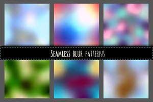 Seamless blurred vectors
