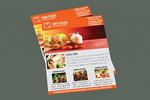 Omni Food Flyer Templates