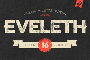Eveleth - Premium Letterpress Fonts