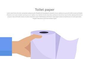 Toilet Paper Web Banner