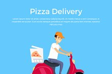 Pizza Delivery Concept