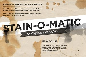 Amazing Paper Stain toolkit