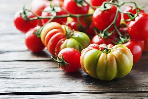 Red sweet tomato