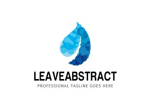 Leave Abstract Logo