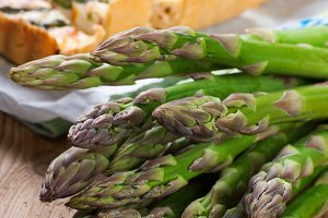 Asparagus for home made asparagus savory tart