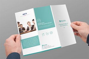 Tri-fold Brochure Business