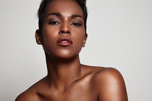 beauty black woman