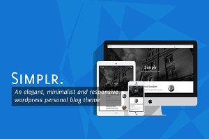 50%OFF Simplr - Medium-like WP Theme