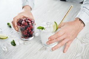 Smoothie and milkshake cocktail time