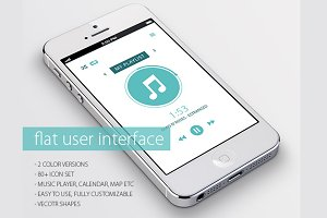 Flat User Interface | UI UX