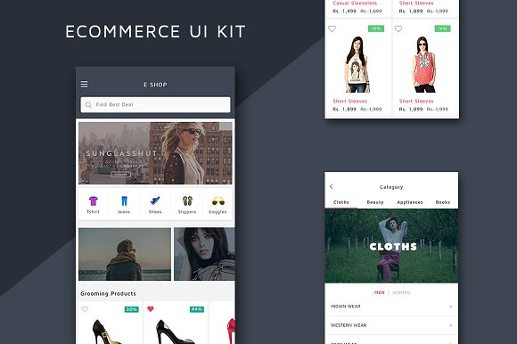 By B Hints || Android Ecommerce App Source Code Free
