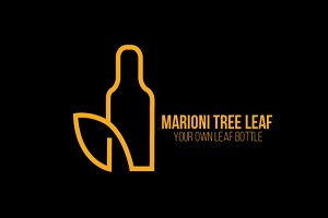 Marioni Tree Leaf Logo