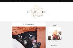 Lenox Blogger Theme