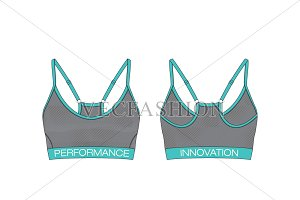 Women Fitness Top Fashion Flat