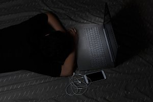 Technology effect on sleep time