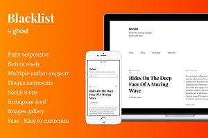 Blacklist - Responsive & Minimal