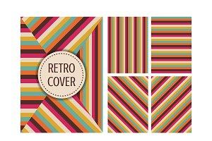 retro multicolor cover