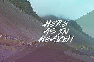 Here As In Heaven