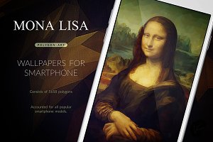 Mona Lisa - Smartphone Wallpapers