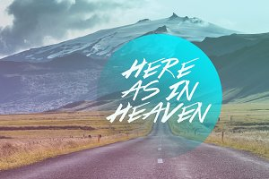 Here As In Heaven Artwork Bundle